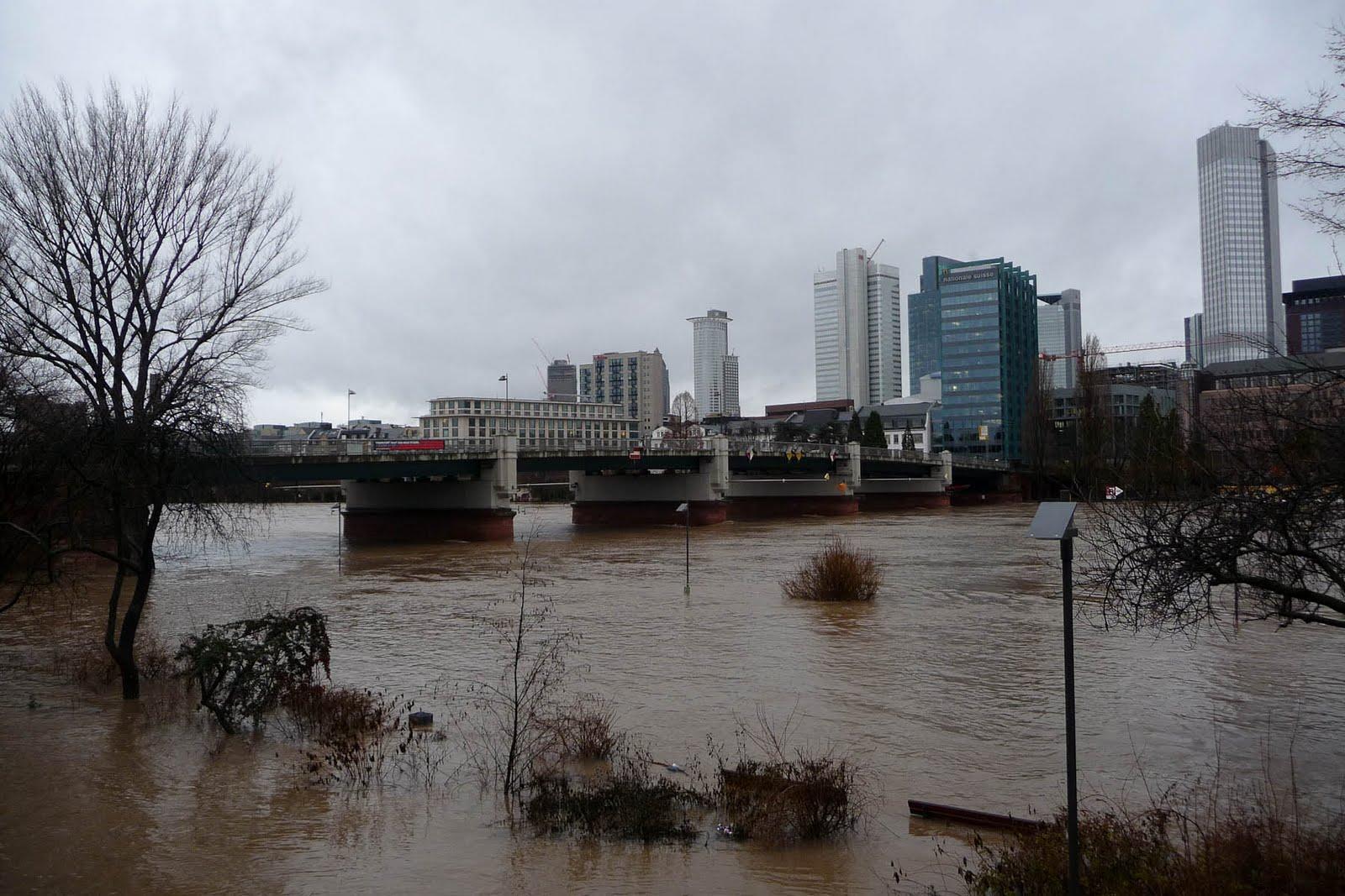 Hochwasser Frankfurt