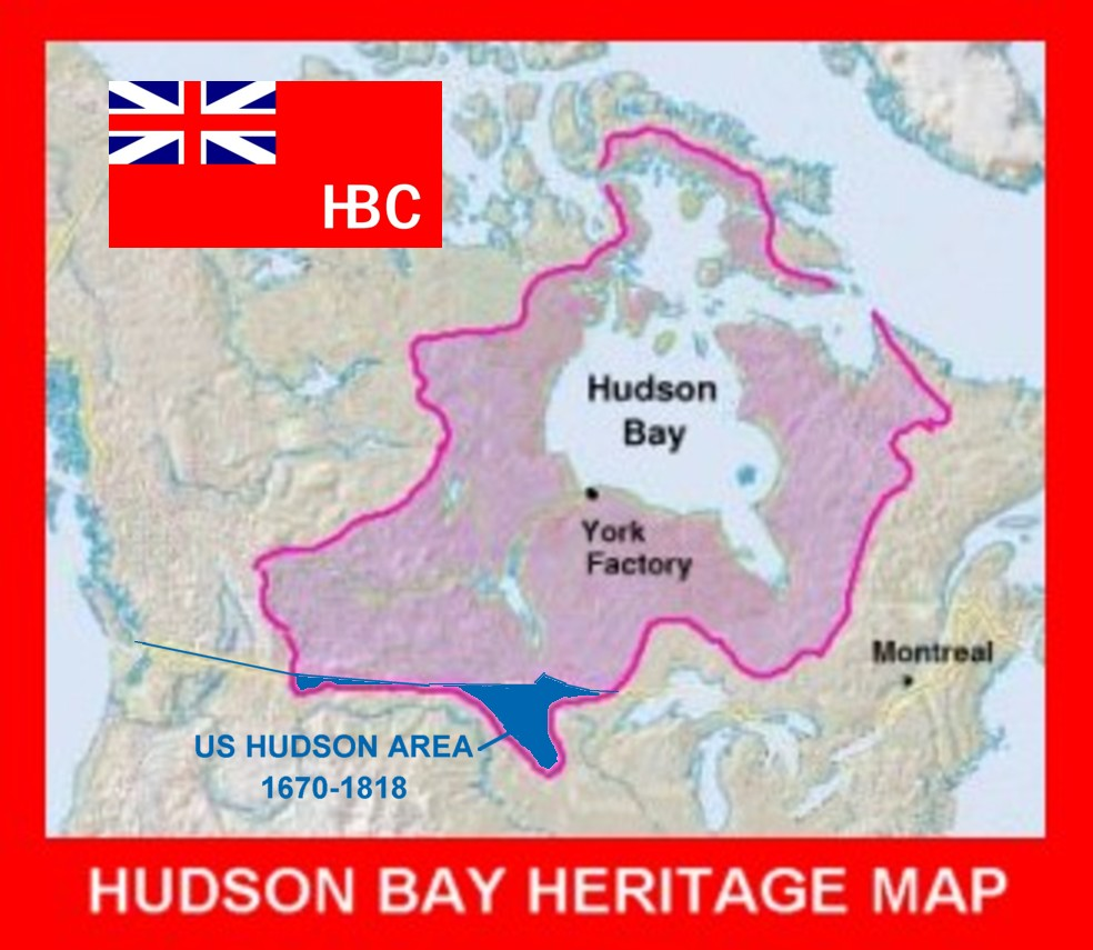 Hudson Bay On Us Map.The Voice Of Vexillology Flags Heraldry Hudson Bay Company