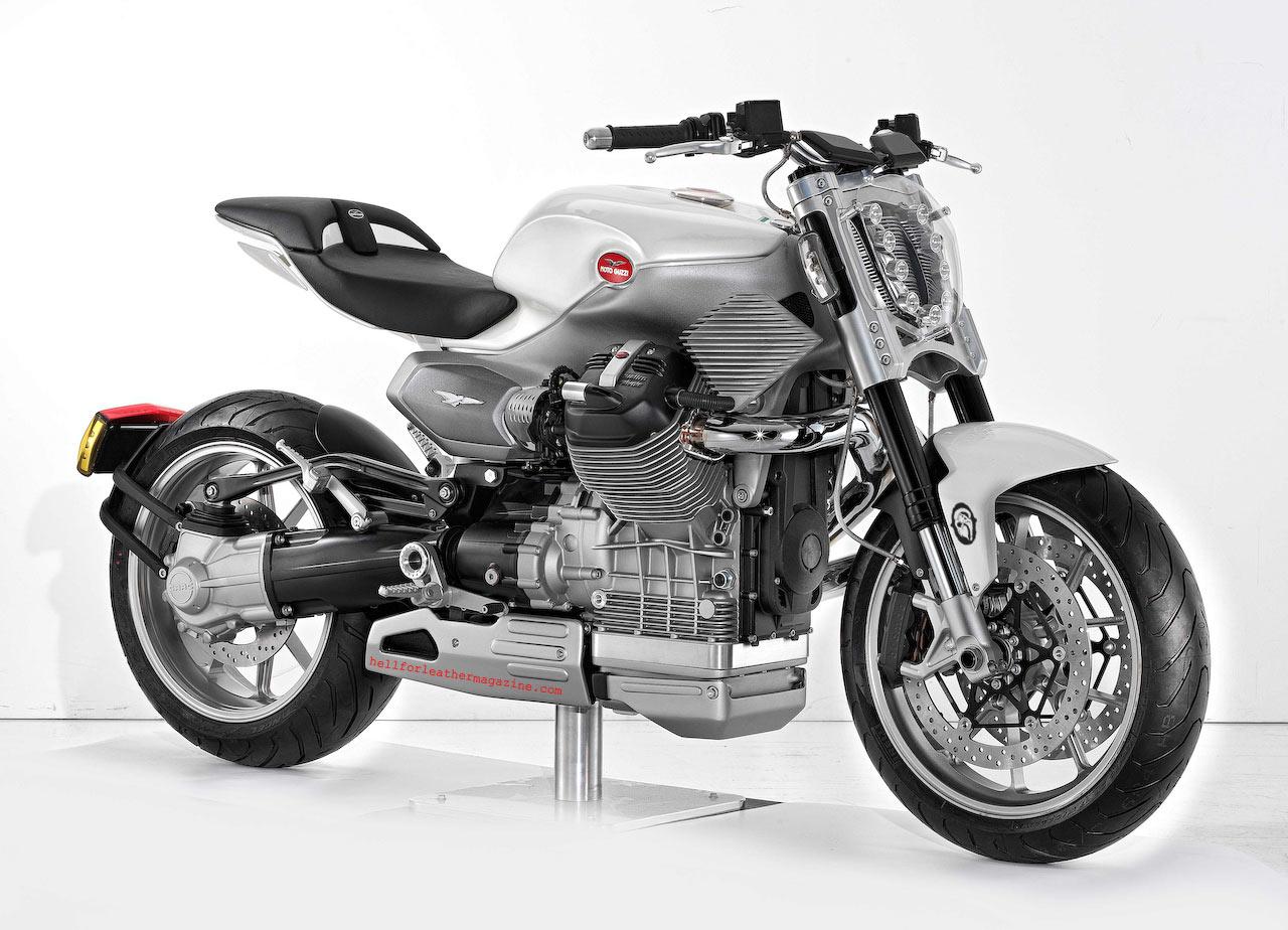Actualidad Automotriz: Moto Guzzi V12 Strada Concepto