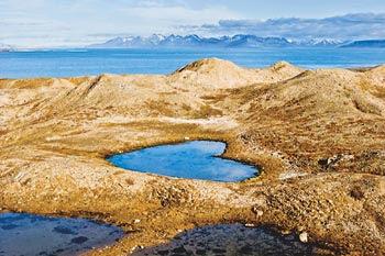 Telaga Cinta di Pulau Spitsbergen