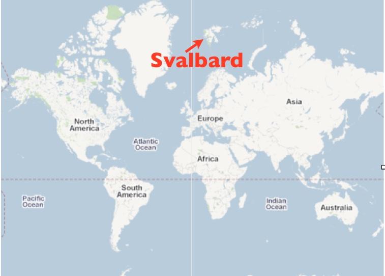 The Oddities and Anomalies of Svalbard