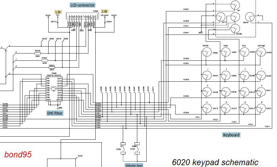 nokia x6 diagram