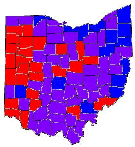 Purple State Map.Weapons Of Mass Discussion A Fresh Look At Ohio S Political Landscape