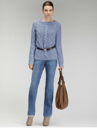Marilyn Monroe s classic Aran knit sweater, recreated by French company Gerard  Darel. a24a7e08ed7a