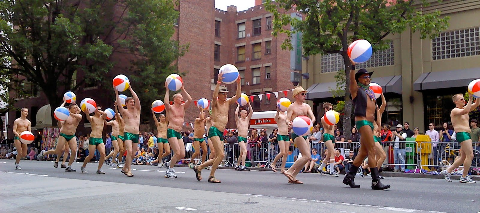 Seattle nudist parade