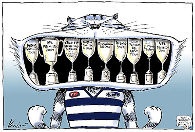 Comic Strips Humour Geelong Cats In 2007 The Greatest Team Of All