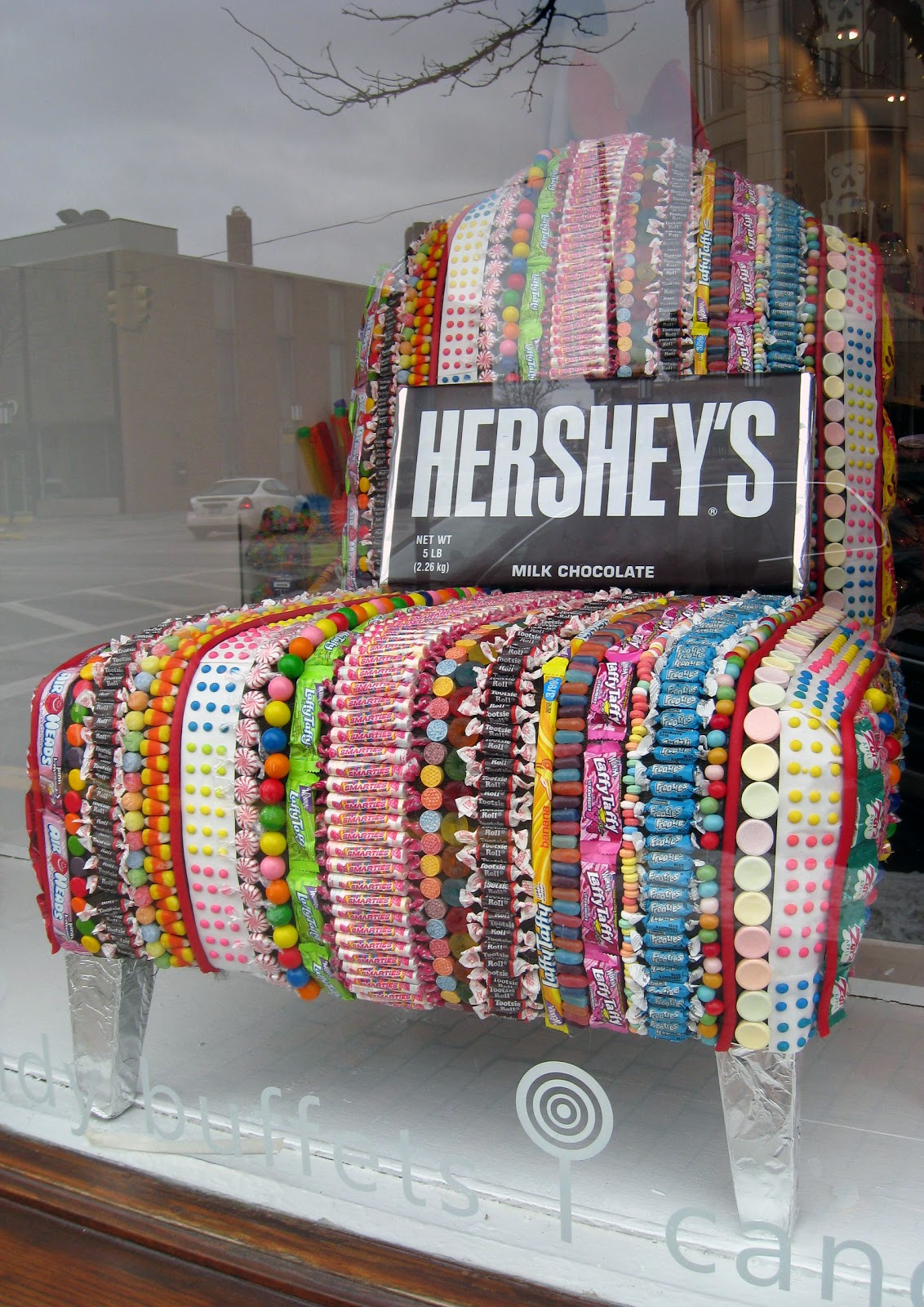 Moments Of Delight Anne Reeves Candy Chair