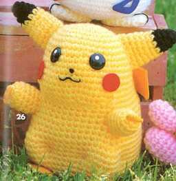 Pikachu En Amigurumi : .Un Poquito de Todo: patron pikachu amigurumi crochet