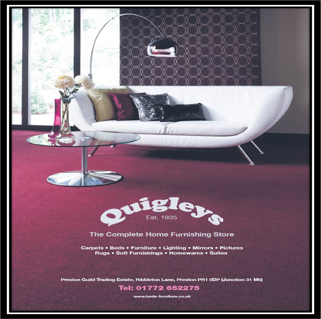 Leather Sofas Preston Lancashire: QUIGLEYS QUALITY BEDS AND FURNITURE SUPERSTORE