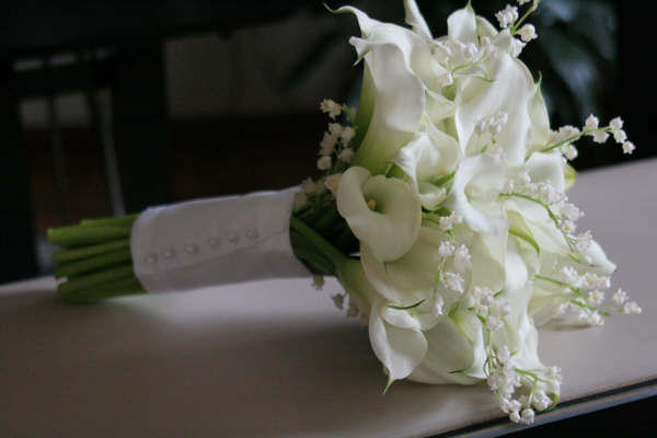 Lily Of The Valley Wedding Bouquet: Whistlestop Florist: Three Bridal Bouquets