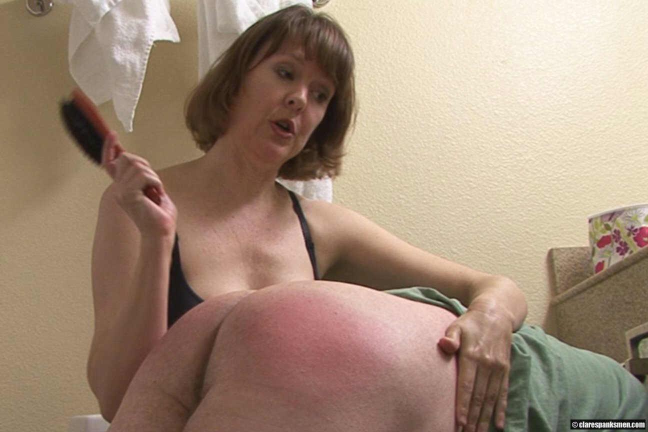 stepmother spanking