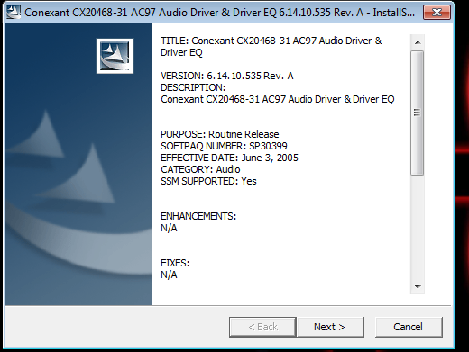 C-media ac97 audio device 5. 12. 01. 0037 (free) download latest.
