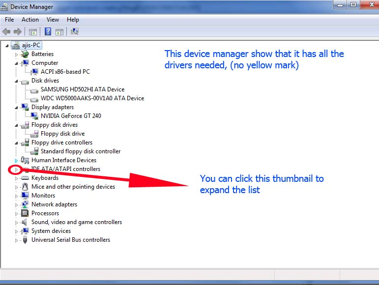 Laptop Driver: Check Your Driver In Windows 7