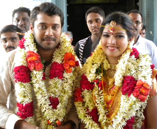 Actor Bala Amrutha Marriage Photos