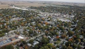 Geneseo from the air