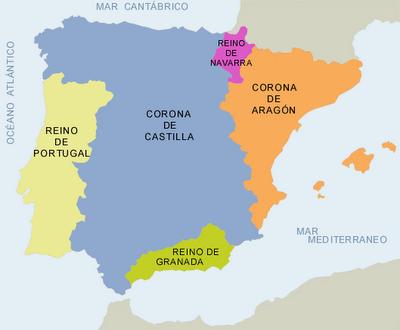 Espa?a y Portugal en el Siglo XV
