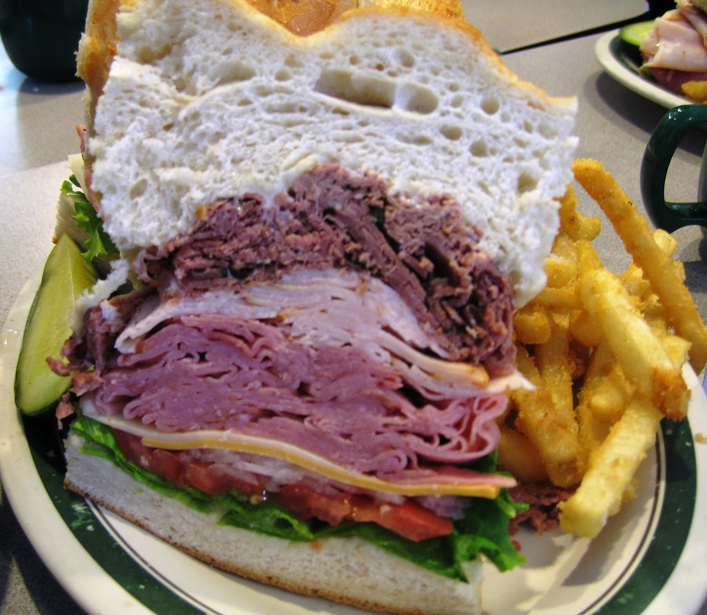 Man Vs Food Best Sandwich
