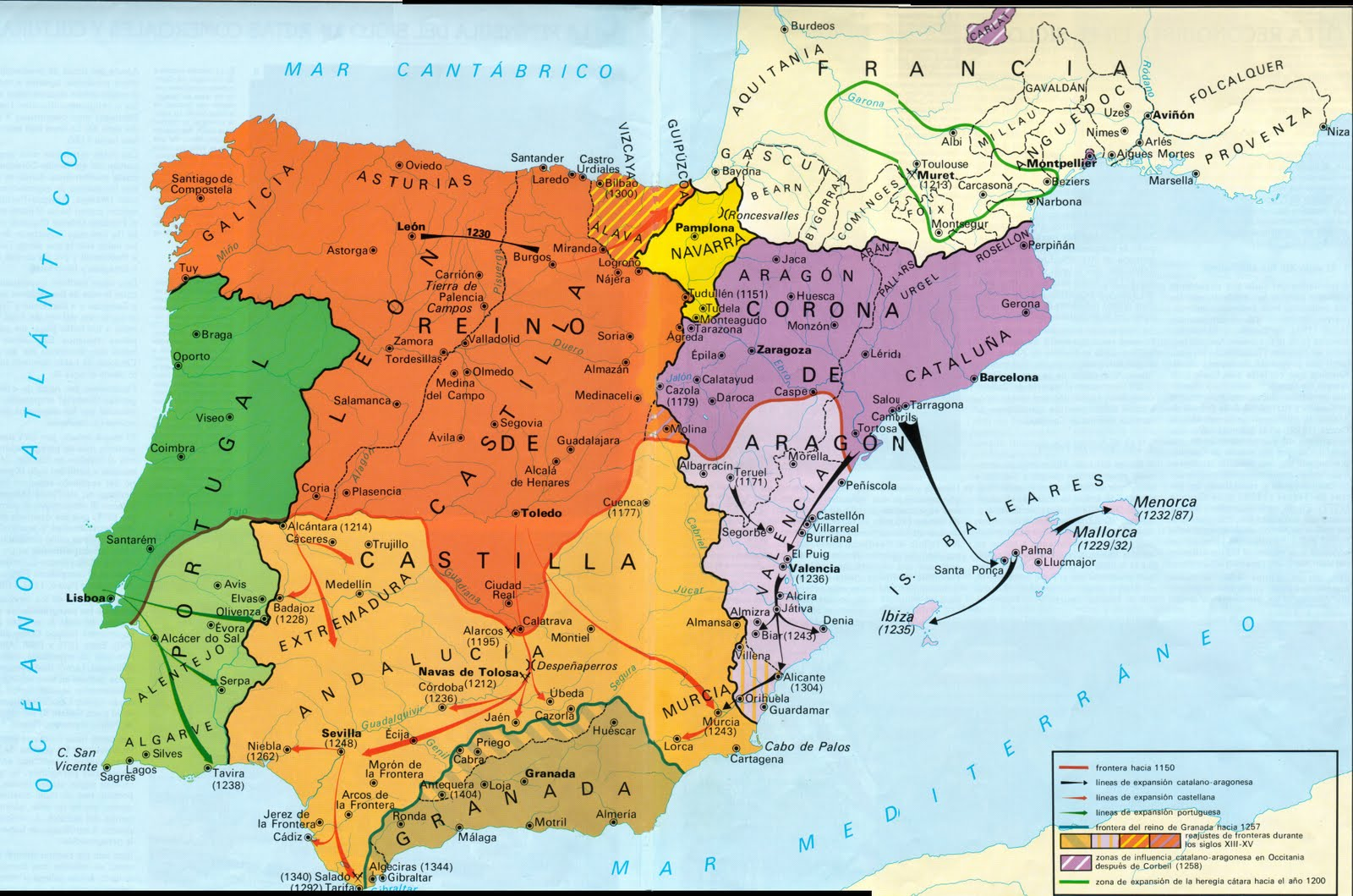 Map Of Spain 1492.Historical Maps Of Spain And Portugal