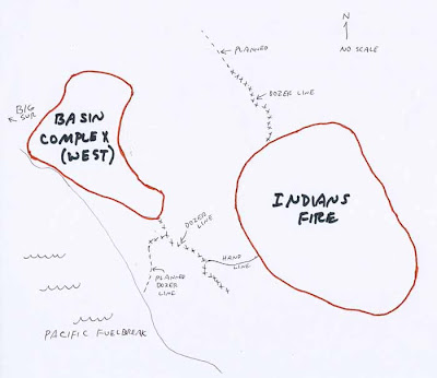 California: Indians fire and Basin Complex - Wildfire Today on
