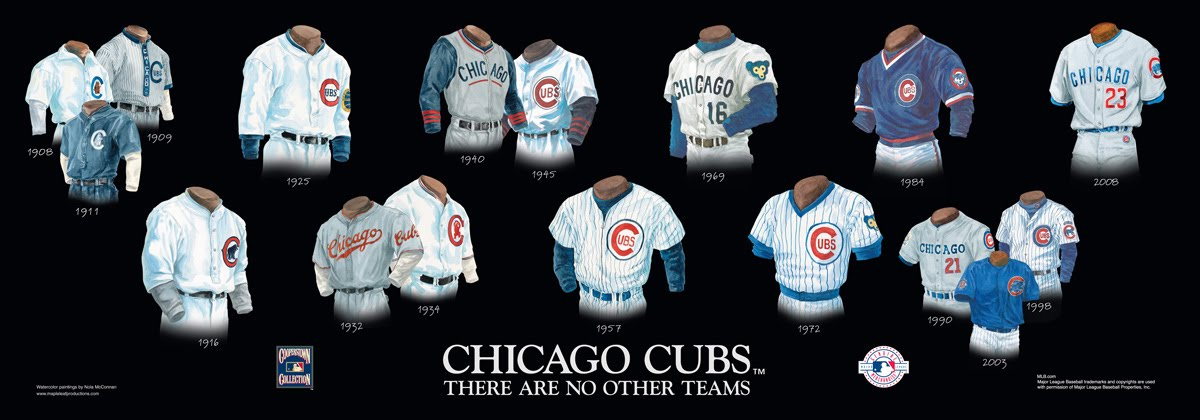 new arrival be14c d216f Chicago Cubs Uniform and Team History | Heritage Uniforms ...