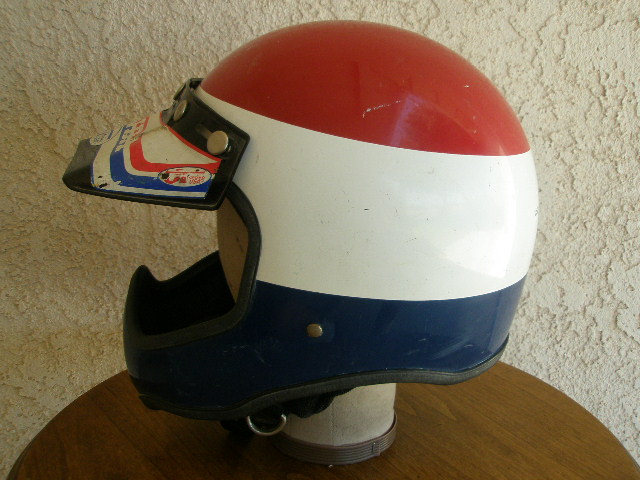 Bell Motorcycle Helmet >> Vintage Motorcycle Helmets: Vintage Full Coverage ...