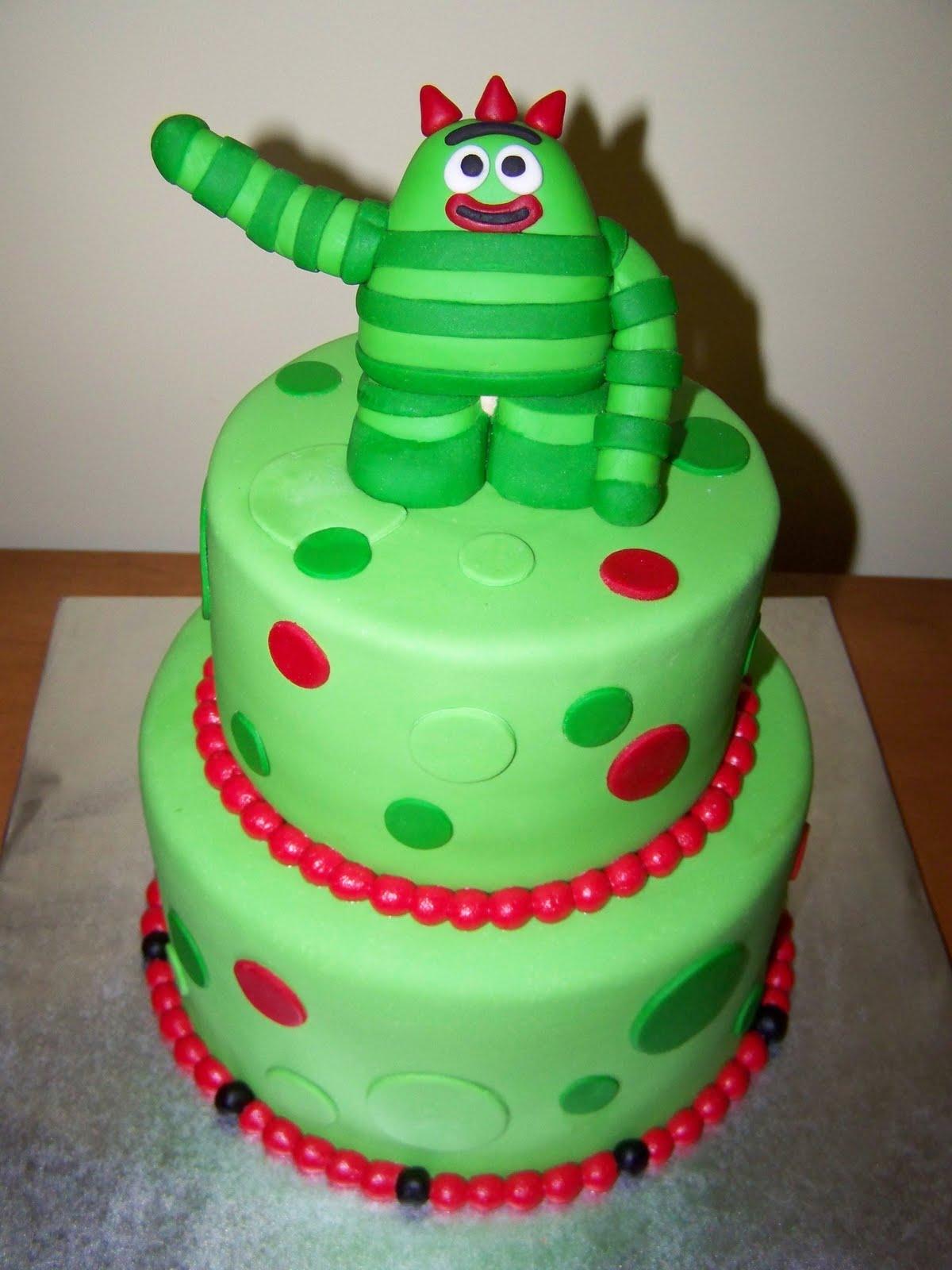 Cakes By Kristen H Brobee Yo Gabba Gabba Cake