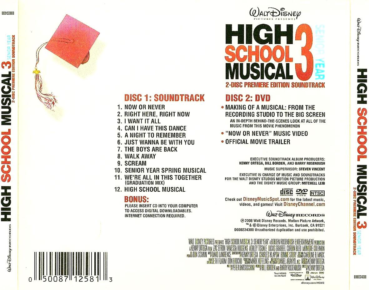 World Capas High School Musical 3