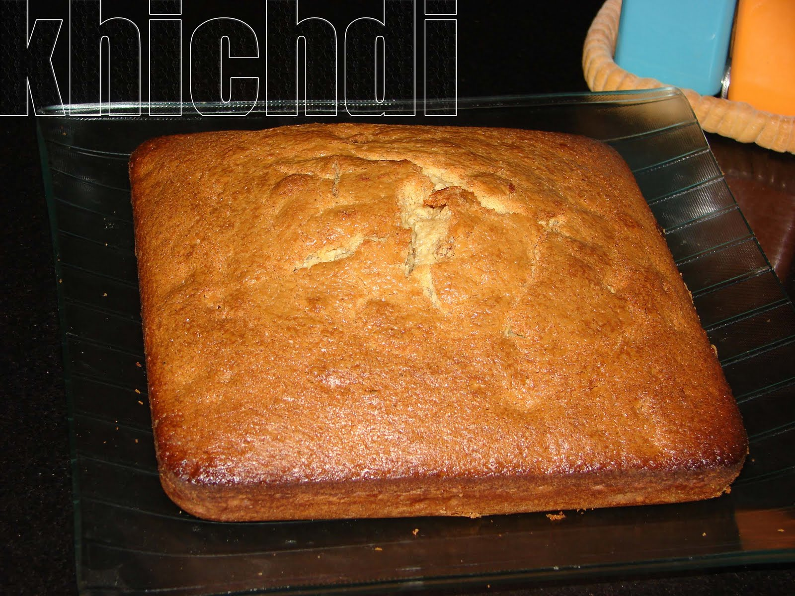 Khichdi A Very Simple Cake