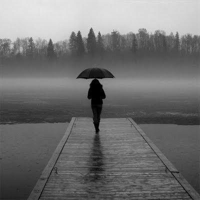 Percurso  da chuva...sem vida...