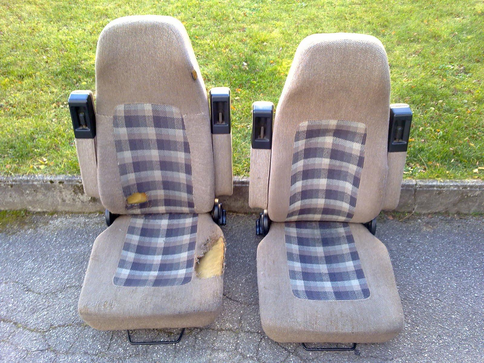 aircooled orange seltene vw t3 dehler sitze zu verkaufen. Black Bedroom Furniture Sets. Home Design Ideas