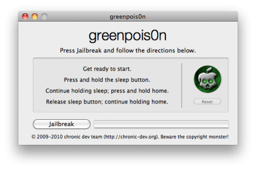 Download GreenPois0n RC5 Update To Untether iOS 4.2.1 Jailbreak Full Guide With [Video]
