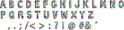 Baixar alfabeto pontos dots