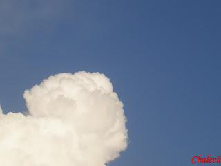 nubes en el valle del jerte