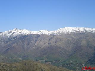 Reserva natural en el valle del jerte