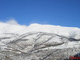 invierno montaña valle del jerte