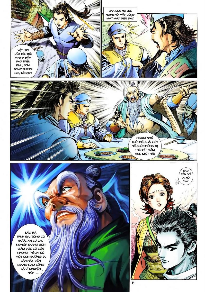Anh Hùng Xạ Điêu anh hùng xạ đêu chap 30 trang 5