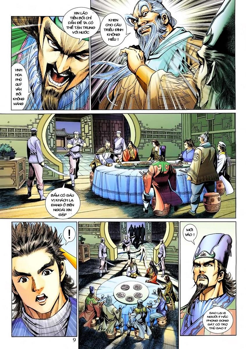 Anh Hùng Xạ Điêu anh hùng xạ đêu chap 30 trang 8