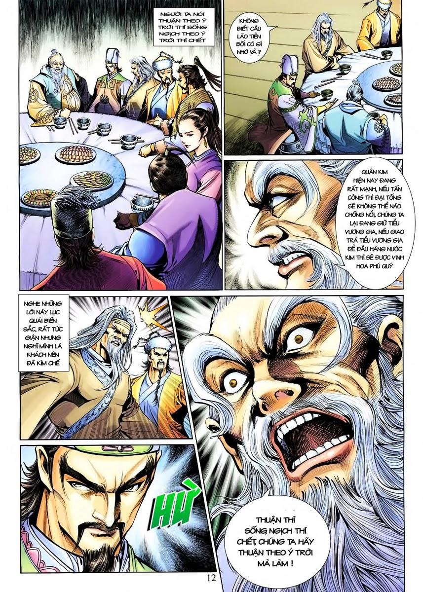 Anh Hùng Xạ Điêu anh hùng xạ đêu chap 30 trang 11