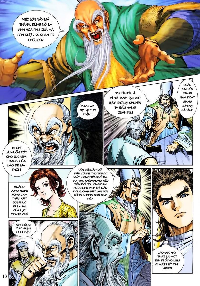Anh Hùng Xạ Điêu anh hùng xạ đêu chap 30 trang 12