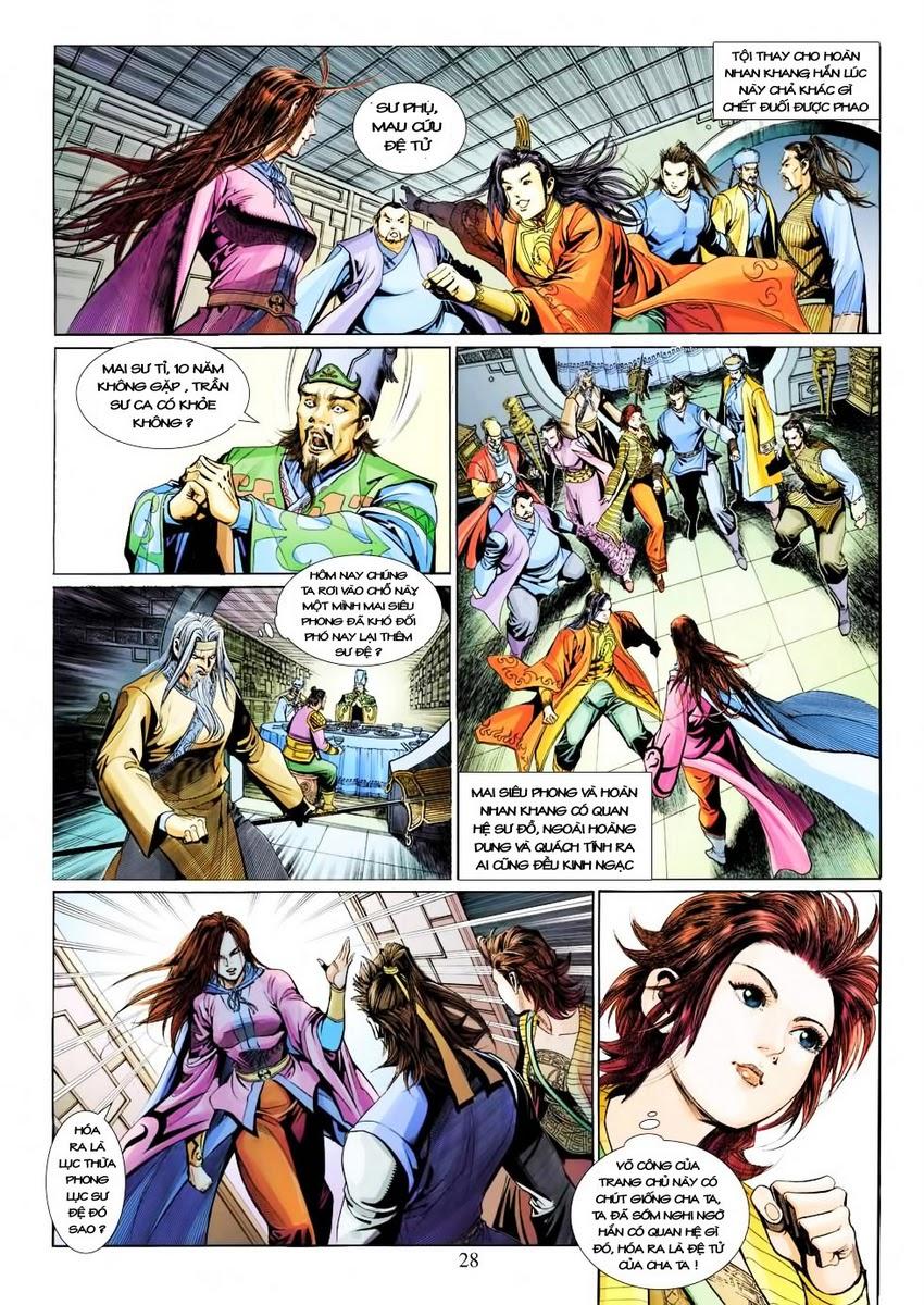 Anh Hùng Xạ Điêu anh hùng xạ đêu chap 30 trang 26