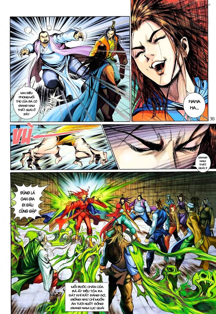 Anh Hùng Xạ Điêu anh hùng xạ đêu chap 30 trang 28