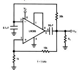 world technical: Amplifier with lm386
