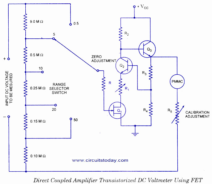 drum switch wiring diagram for dc world technical: dc voltmeters