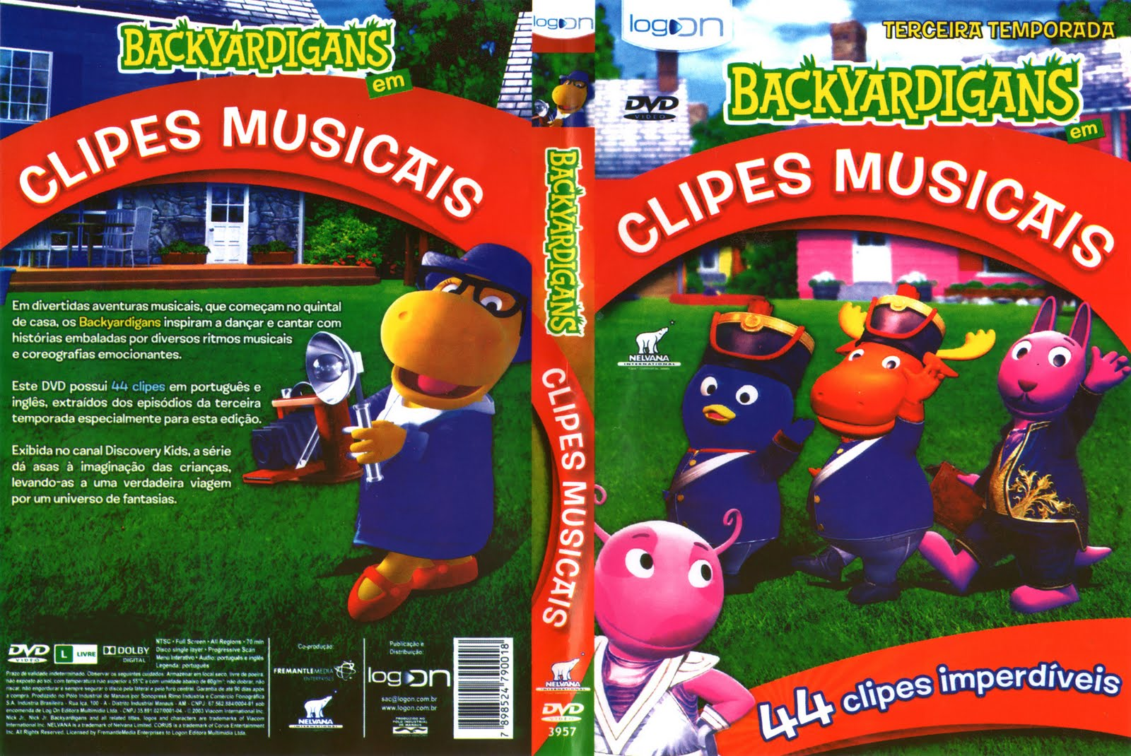 backyardigans clipes musicais
