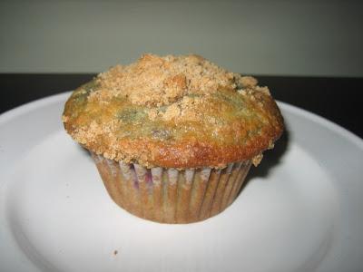 Barefoot Contessa Style Blueberry Muffins