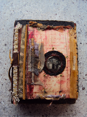 altered book, museum of forgotten things, pulp redux, round robin