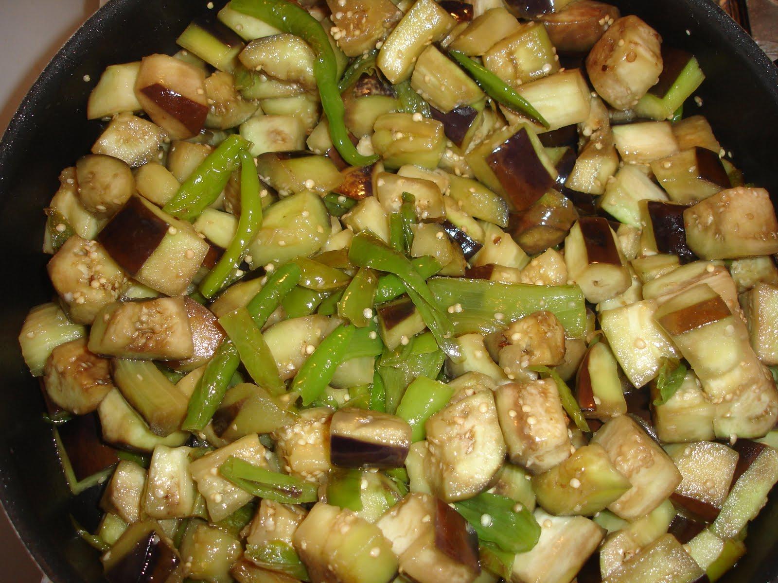 Kış tarifleri için patlıcan
