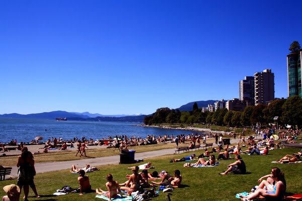 plage de vancouver english bay