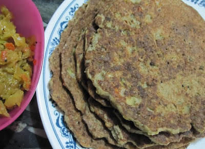 Cabbage Uthappam