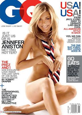 Jennifer Aniston untuk Cover Majalah GQ